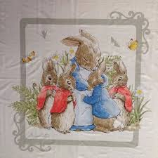22 best Fabric panels at Quilting By Fiona images on Pinterest ... & Beatrix Potter Peter Rabbit Cot Quilt Panel, Grey, 117cm X 112cm, 46 X Adamdwight.com