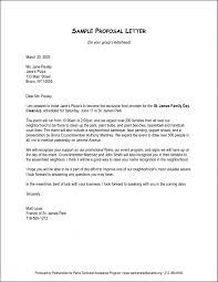 Transportation Proposal Sample Advanced Service Proposal Letter