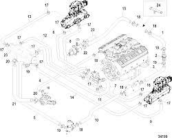 7 4 mercruiser engine diagram luxury КатаРог зÐ