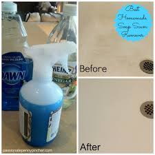 Spring Cleaning Challenge + Soap Scum Remover Recipe | Passionate ...