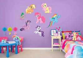 my little pony the collection fathead wall decal
