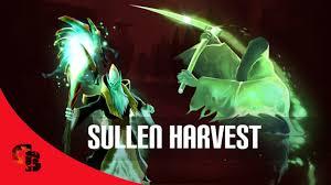 dota 2 store necrophos sullen harvest immortal youtube