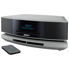 bose. bose wave soundtouch iv wireless multi-room music system - silver : home speakers best buy canada