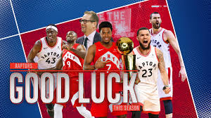 """Toronto Blue Jays on Twitter: """"The Champs Return 🏆 Enjoy tonight and have  a great year, @Raptors!… """""""