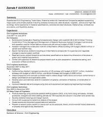 Civil Engineering Technician Resume New Civil Engineer Technician Resume Sample LiveCareer
