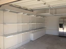 decor discontinued shelving organizer overhead cabinets high storage tool home shelves and new garage systems deals