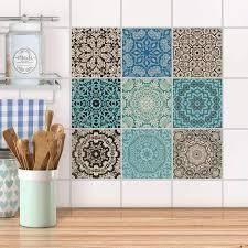 Fliesenaufkleber Für Küche Bad Marokkanisch Creatisto