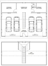 48x36 4Car Garage W Loft U0026 Solar Panels  48X36GP2  2800 Sq 4 Car Garage Size