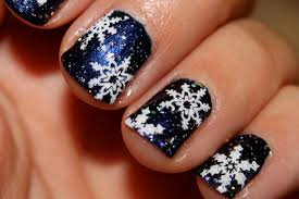 Xmas nail ideas - how you can do it at home. Pictures designs ...