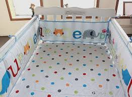 baby elephant crib bedding set new cot bedding cotton early education baby bedding set embroidery