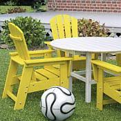 Poly Wood Kids Recycled Outdoor Furniture Collection