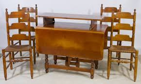 Early American Dining Chairs Maple Dining Chairs Early American - Early american dining room furniture