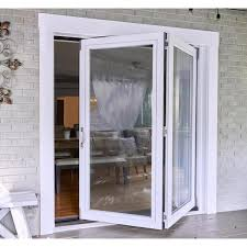 2 panel folding patio door kit