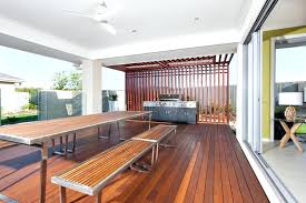 long wooden table long wooden table and benches with modern grill cabinet in a stock
