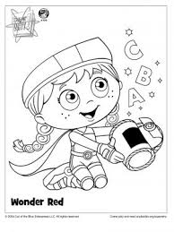 Small Picture Wonder Red Coloring Page Super WHY Coloring Pages for Kids
