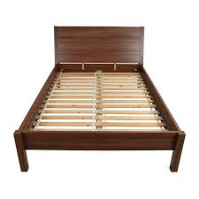 ... IKEA IKEA Full Size Brown Bed Frame on sale ...