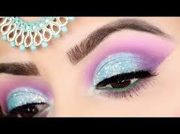 muslim bridal eye makeup tutorial with