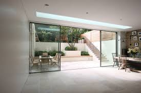 contemporary sliding glass patio doors. minimal windows as modern patio doors in london by iq glass. contemporary sliding glass i