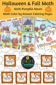 fall math pumpkin maze color by answer coloring pages for one step equations with without negatives distributive property with