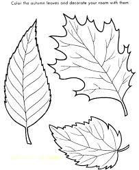 Fall Leaf Coloring Leaves Page Pages Printable Autumn To Print Pdf