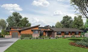 contemporary ranch house plans.  House Stunning Contemporary Ranch Home Plan  69510AM 01 Throughout House Plans Architectural Designs