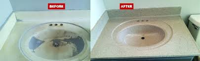 resurface bathroom sink bathroom and kitchen sink resurfacing reglazing bathroom sinks