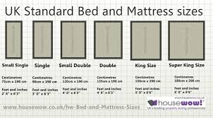 mattress sizes double. UK Bed And Mattress Sizes Large Image Double HouseWow