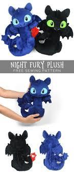 Plush Pattern Classy Night Fury Plush Free PDF Sewing Pattern Stepbystep Sewing