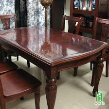 glass cover for table designs top dining we put a on our wooden glass cover for