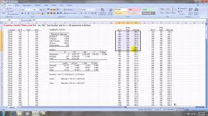 creating a parallel ed lines graph in excel 2007