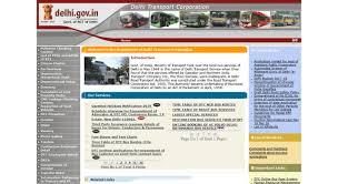 Access Dtc Nic In Delhi Transport Corporation