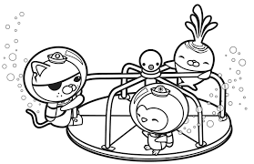 Small Picture Octonaut Coloring Pages Get This Octonauts Coloring Pages
