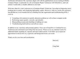 31 Pc Technician Cover Letter Leading Professional Computer Repair