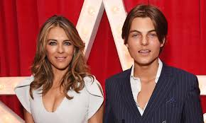 Elizabeth Hurley's son Damian Hurley ...
