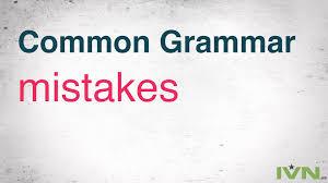 common grammar mistakes to avoid