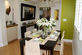 floral arrangements dining room table. modern flower arrangements for dining room design with black table and white chairs floral l
