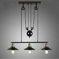 industrial lighting fixtures for home. aliexpress.com : buy retro loft vintage industrial pulley pendant lamp home lighting fixture for dinning room kitchen ac 110v/220v edison bulbs from fixtures