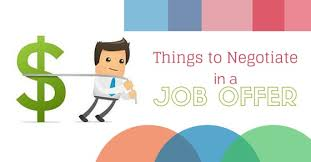 job offer salary what things to negotiate in a job offer other than salary wisestep