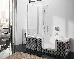 bathtub surrounds small soaking tub shower combo architecture one piece bathshower seamless surround home depot for