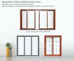 two panel glass door 4 panel sliding glass door luxury tempered glass closet doors gallery doors