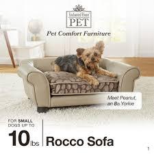 pet sofa fresh rocco sofa enchanted home pet