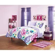 your zone boho paisley bedding comforter set purple com bright colored comfo full size