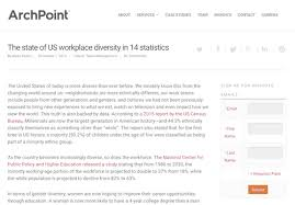diversity in the workplace articles on benefits advantages  the state of us workplace diversity in 14 statistics