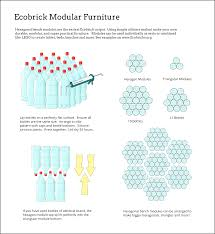 Hexbench Full Illustration Modular Furniture Brick