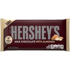hershey almond candy bars. Beautiful Almond Hershey Giant Milk Chocolate With Almonds Candy Bar Throughout Almond Bars