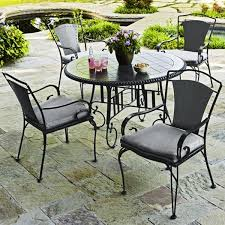 wrought iron outdoor furniture. View Larger. Wrought Iron Outdoor Dining Table Furniture A