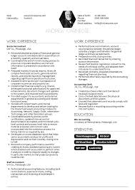 Template Accounting Resume Template Best Of Accountant Example 2017