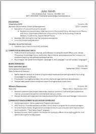 High School Resume Layout - Kleo.beachfix.co