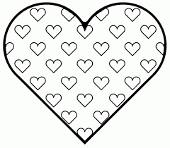 Free Valentine Coloring Pages with regard to Encourage in coloring ...
