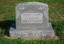 Effie Jane Clark Connor (1884-1959) - Find A Grave Memorial